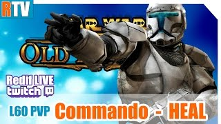 "SWTOR L60 PVP -  Commando HEAL - ""bébé poulpe est grand maintenant"""