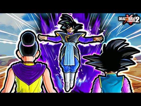 THIS NEW ZAMASU STEALS GOKU'S FAMILY! Dragon Ball Xenoverse 2 Goku Zamasu Body Switch Custom Skills