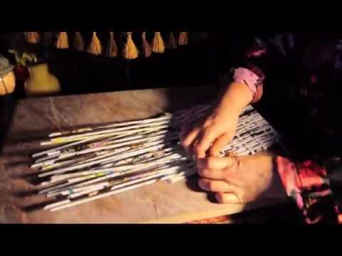 Плетение из лозы журнала шкатулки.Плетение крышки.Ч-10. смотреть онлайн
