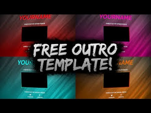 free after effects cinema 4d outro gaming template 1 doovi. Black Bedroom Furniture Sets. Home Design Ideas