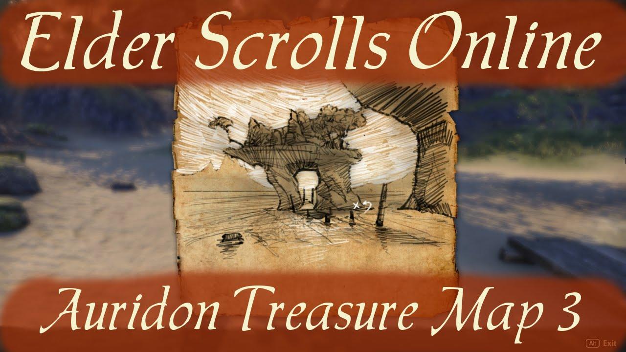 Auridon Treasure Map 3 [Elder Scrolls Online] - YouTube