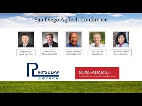 San Diego AgTech - Pitches & Panel