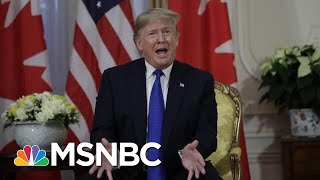 President Donald Trump: Adam Schiff Is A 'Deranged Human Being' | MSNBC