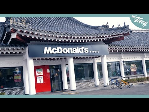 Fast Food in Korea: McDonalds
