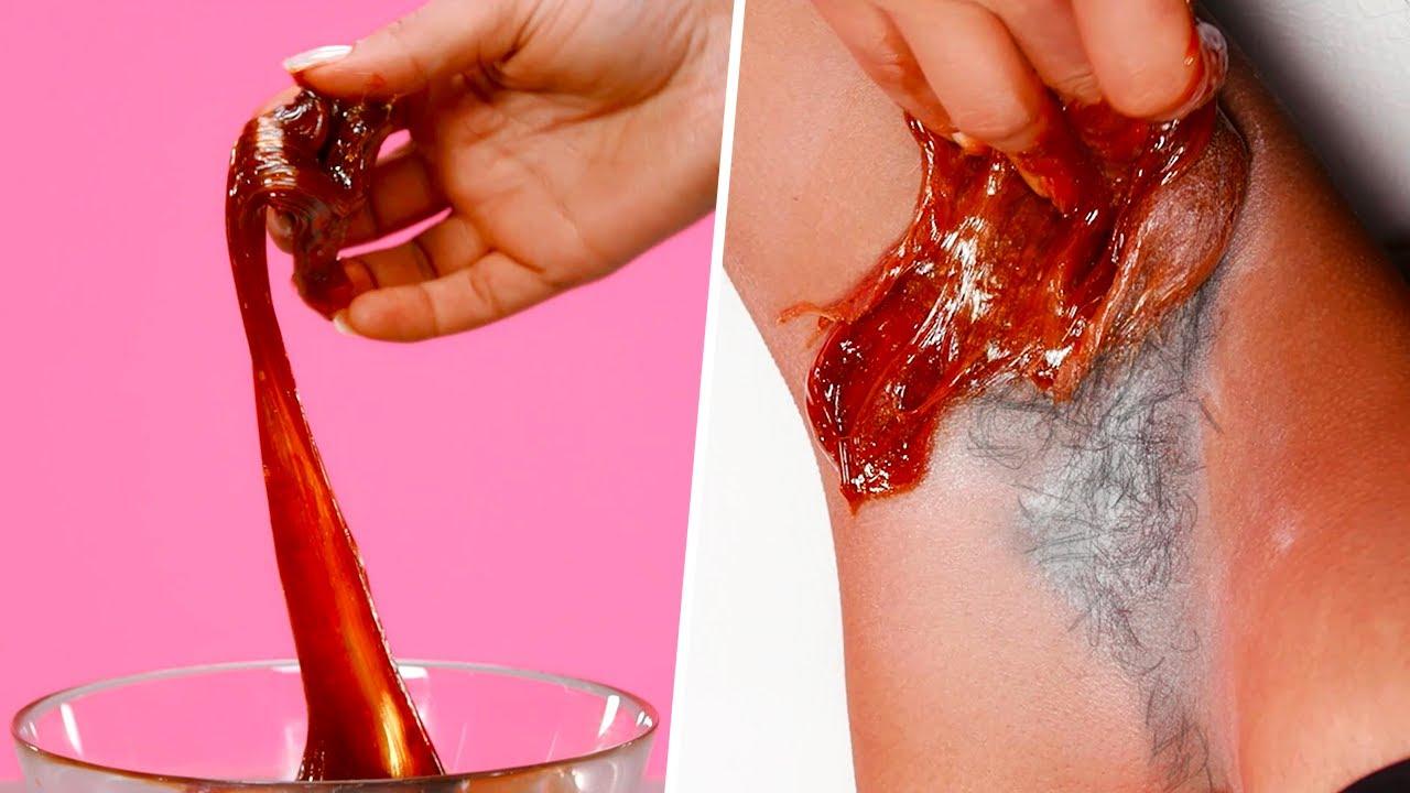 HOW TO: Sugar Wax at Home | Armpits and Bikini Line Hair Removal