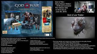 God of War  Stone Mason Edition (Pre-Review) (God of war 4)