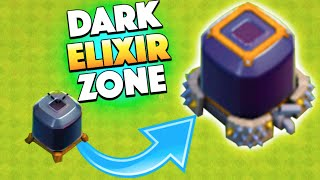 DARK ELIXIR ZONE! - Clash of Clans - Easy Dark Elixir Farming