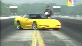 2001 Corvette Lingenfelter Twin Turbo, John Lingenfelter