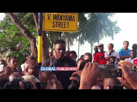 Wanyama Anyang'anywa Mtaa Aliopewa Jana Ubungo