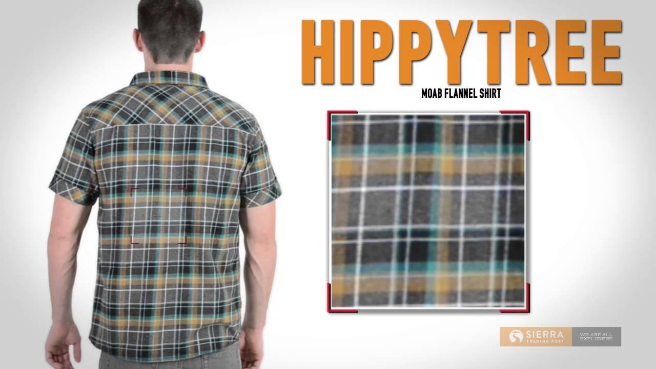 Hippytree Moab Flannel Shirt Short Sleeve For Men Youtube