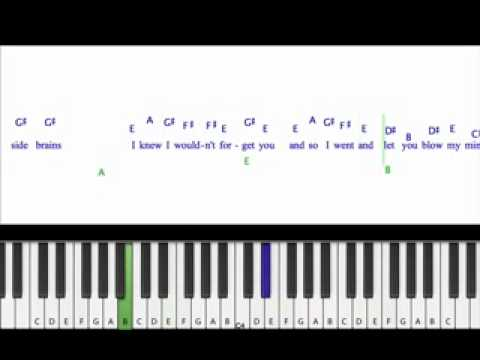 Hey Soul Sister, Train Piano Tutorial - YouTube