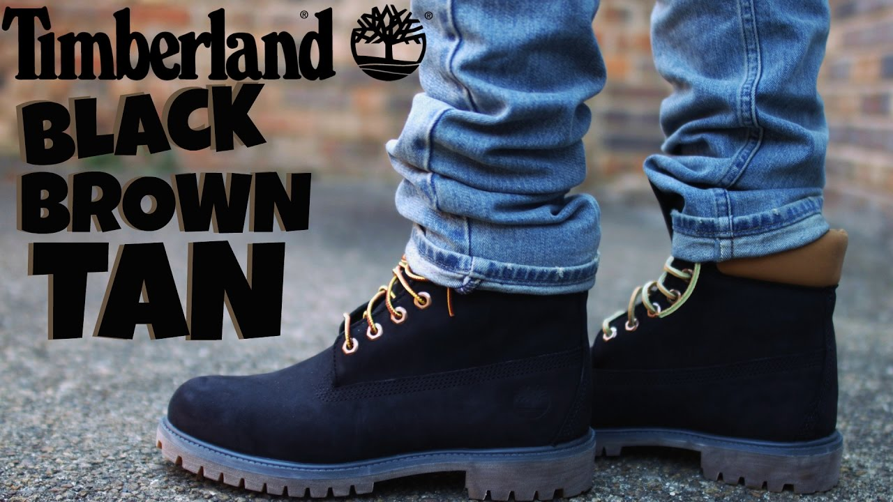 Timberland 6 Inch Boot Quotblackquot Review And On Foot Youtube