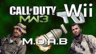 M.O.A.B 46-1 CoD MW3 WII en español