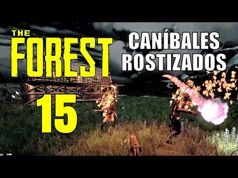 The Forest: Capitulo 15, ¡CANÍBALES ROSTIZADOS!