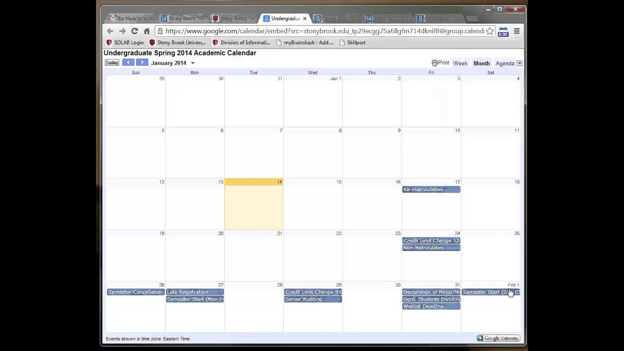 How To Add An Inactive Calendar To Your Google Apps Calendar Youtube