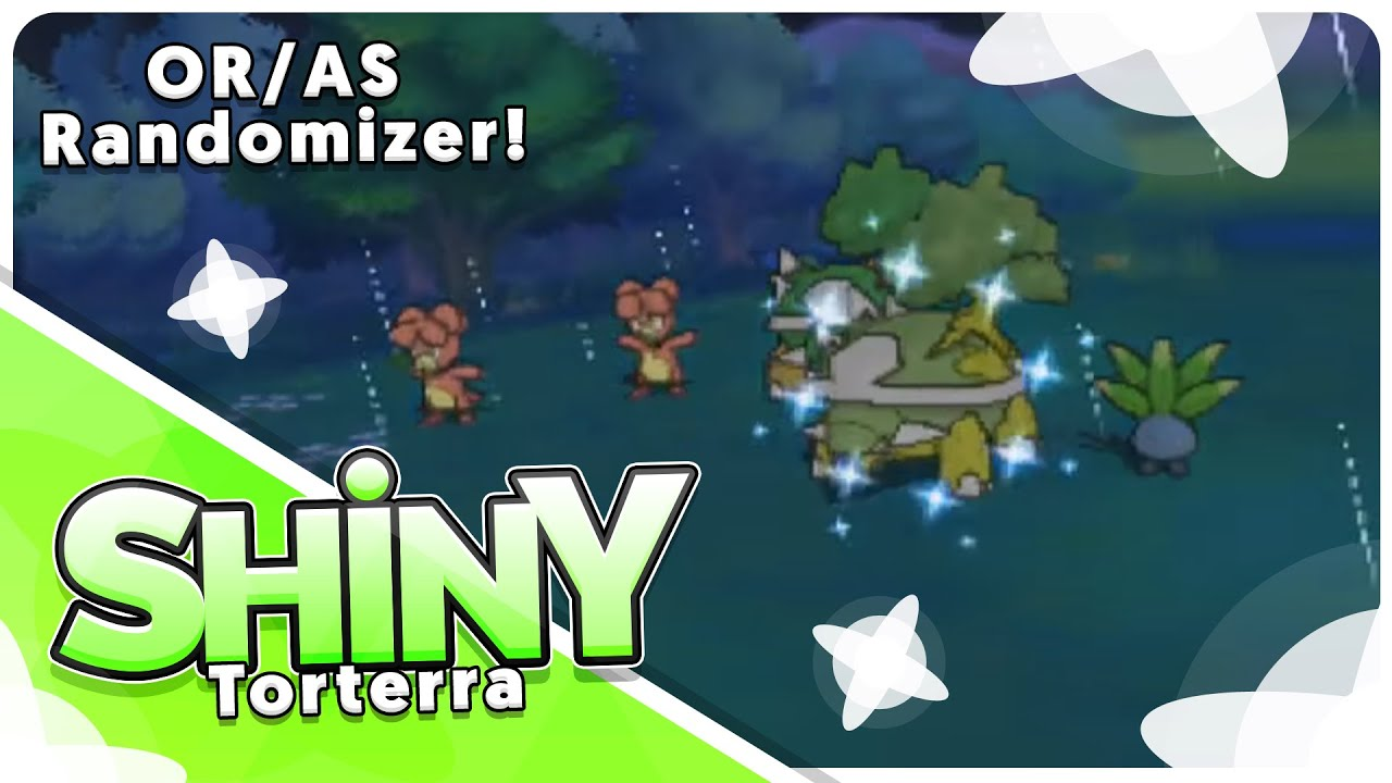Live Shiny Torterra In Only 12 Hordes In The Omega Ruby