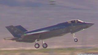 F-35A Lightning II & F-22 Raptor
