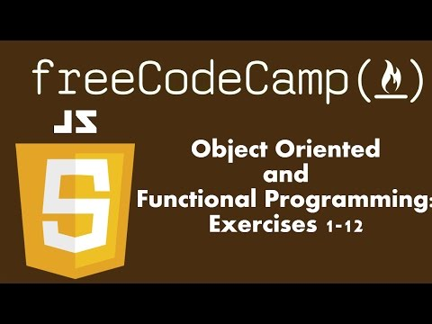 Object Oriented and Functional Programming: FreeCodeCamp.com