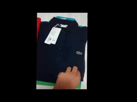 Camisa Polo Lacoste - Grife sul