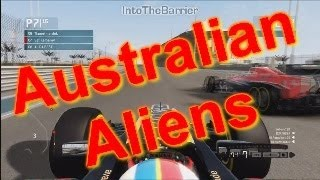 F1 Game 2013 - Australian Aliens Thumbnail