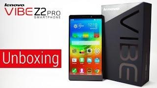 Lenovo Vibe Z2 Pro (Quad HD | Dual Sim | Snapdragon 801) Unboxing