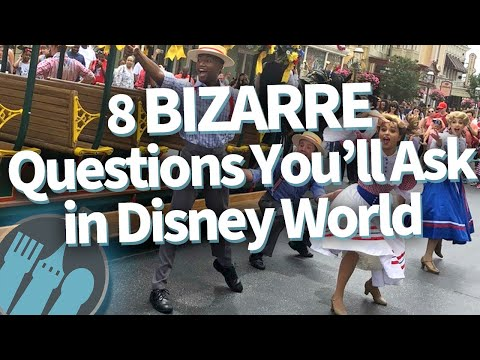 8 Bizarre Questions You'll Ask In Disney World!