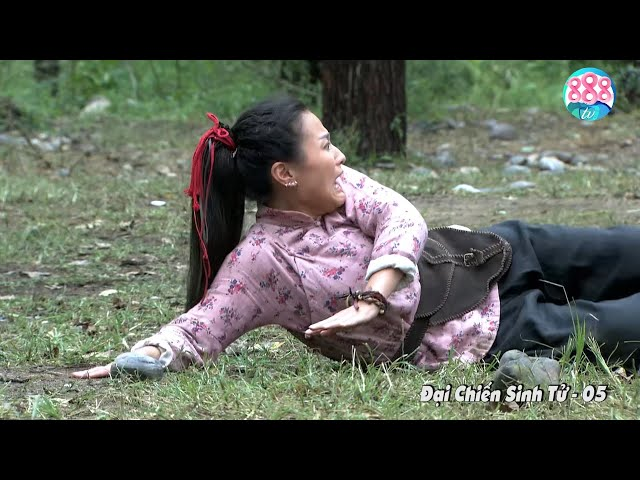 Cô Thôn Nữ Đi Lạc Trong Rừng Bị 4 Tên Lính Nhật Đè Ra Cướp Cái Lần Đầu   Đại Chiến Sinh Tử   888TV
