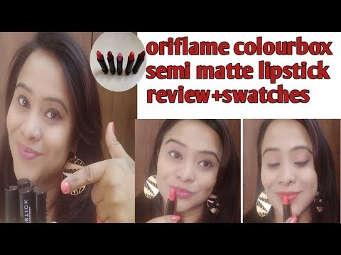 oriflame-colourbox-semi-matte-lipstick-review+swatches