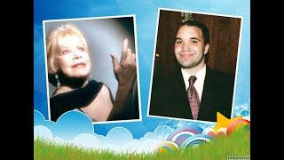 Leandro Gasco con Estela Raval, la gran cantante de Los Cinco Latinos