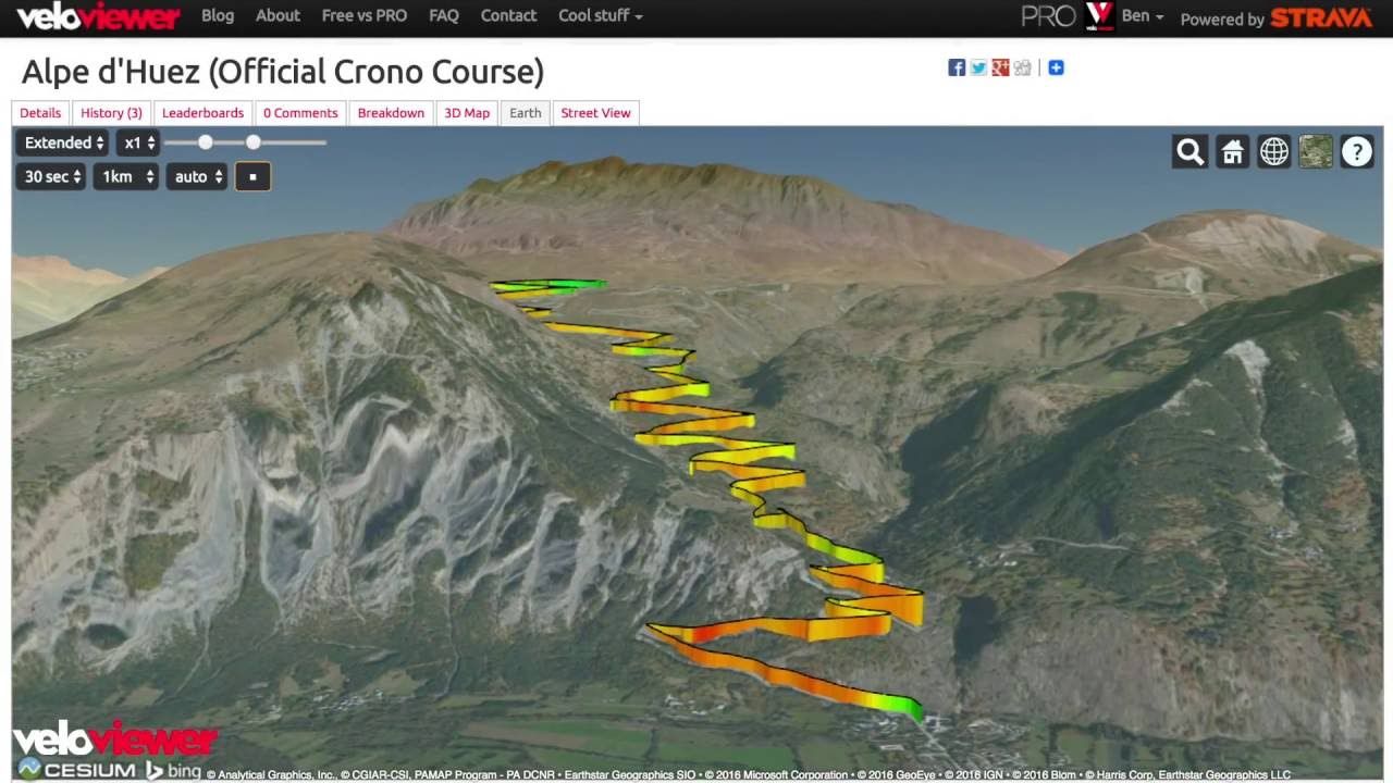 Fly Through Your Strava Activities, Routes and Segments With