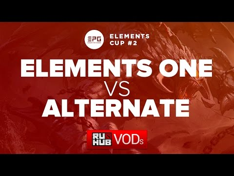 Elements One vs Alternate,Elements Cup #2