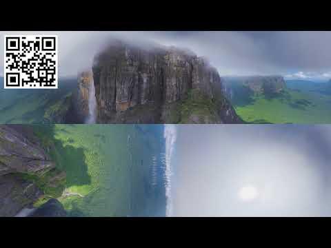360°, Angel Falls, Venezuela  Aerial 8K video   YouTube