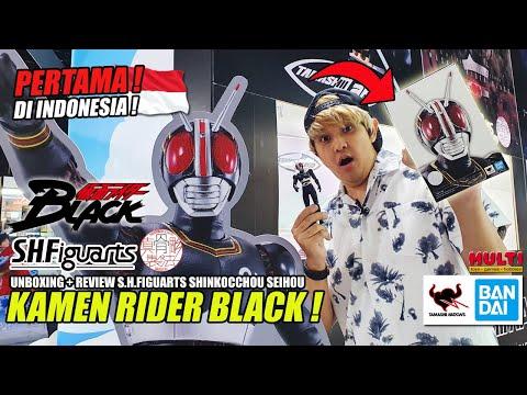 [ENG SUB] PERTAMA DI INDONESIA! UNBOXING + REVIEW S.H.FIGUARTS SHINKOCCHOU SEIHOU KAMEN RIDER BLACK!