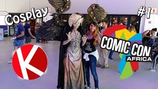{OMG the cosplays!} Cosplayers 1 | Comic Con Africa 2018