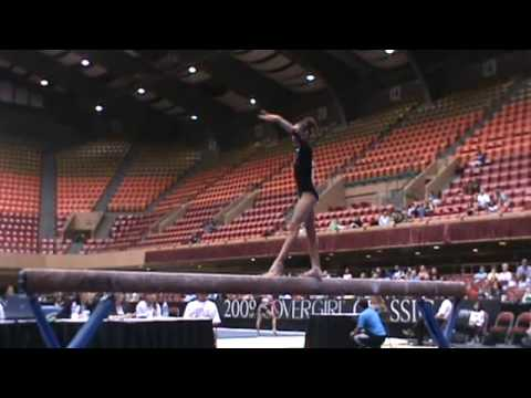 Nicole Steele Beam - 2009 US Challenge