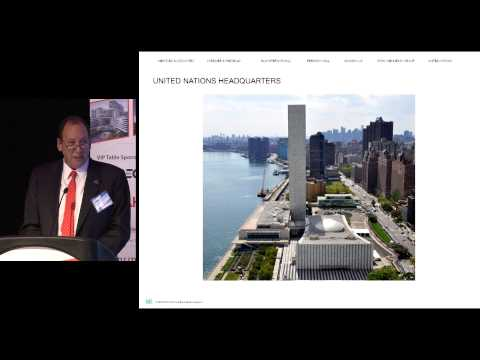 CTBUH 13th Annual Awards - Michael Adlerstein & John Gering, The UN Secretariat Building, New York