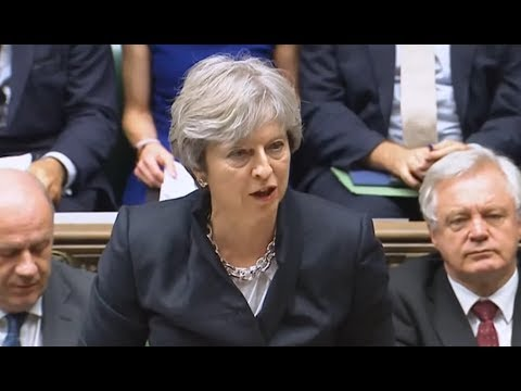 Theresa May's BREXIT Statement & Questions: 9 October 2017