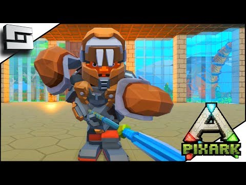 PIXARK! Lost In My Mine! Trying to get XP! E11