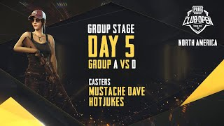 [EN] PMCO North America Group Stage Day 5 | Spring Split | PUBG MOBILE CLUB OPEN 2020