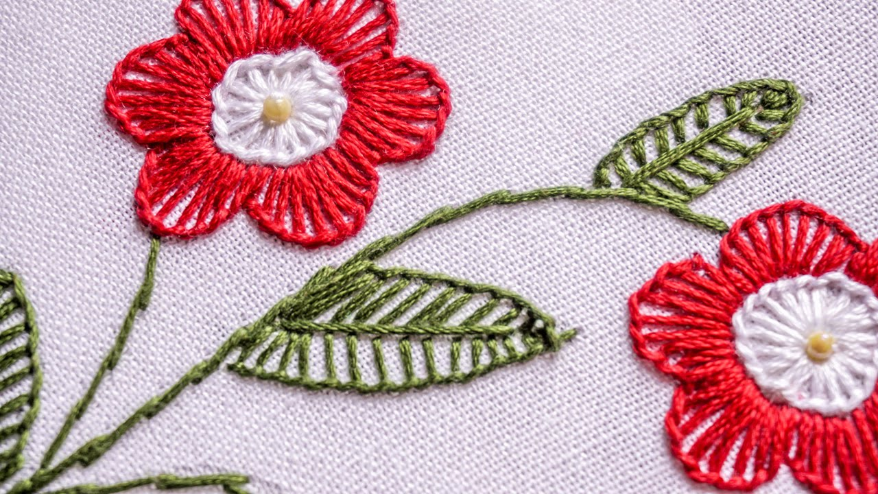 How To Learn Hand Embroidery Designs