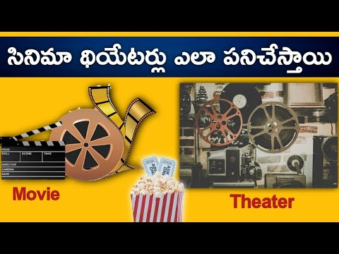 🔰 How Do Movie Theatres Work? | How Movies Make Money | In Telugu | Target Spot