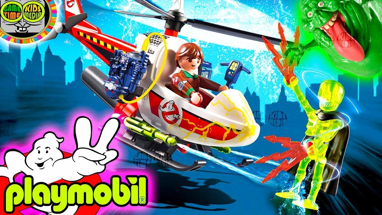 Playmobil 9385 Venkman mit Helikopter Spiel