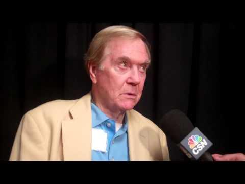 Pro Football Hall of Famer Raymond Berry 8.2.13