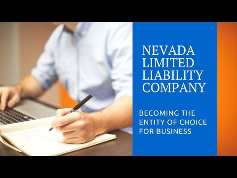 Starting a Nevada Limited Liability Company