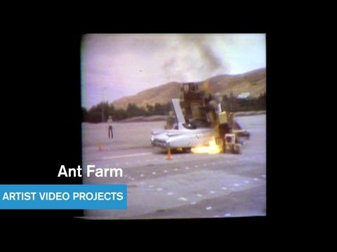 Ant Farm - Media Burn - West Coast Video Art - MOCAtv