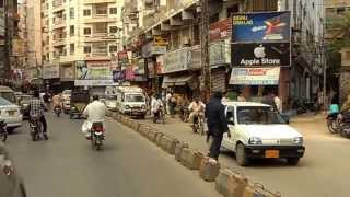 Hyderabad Sindh Pakistan drivethrough (20 mins) SAM 1184