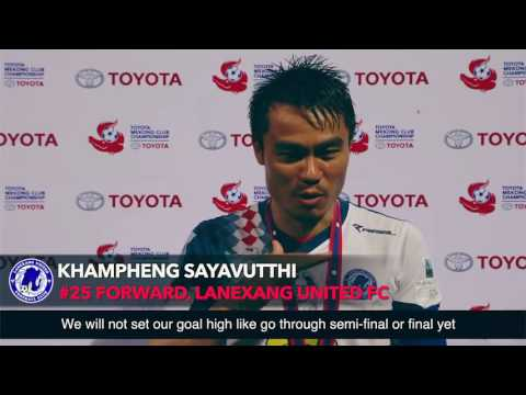 TMCC 2016 Interview with Khampheng Sayavutthi #25 Forward for Lanexang United FC