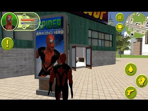 ► Spider Amazing Hero By Fun Action Apps Android Gameplay