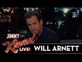 Will Arnett Just Got Back from Wales