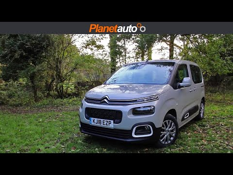 Citroen Berlingo 2018 Review & Road Test   M Feel edition